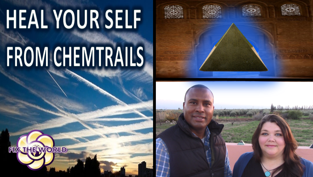 Heal Yourself From Chemtrails