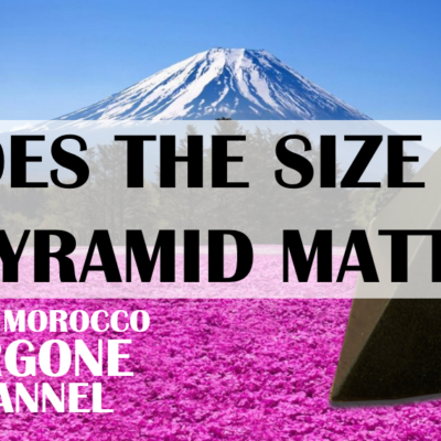 Is a bigger pyramid more effective than smaller ones?