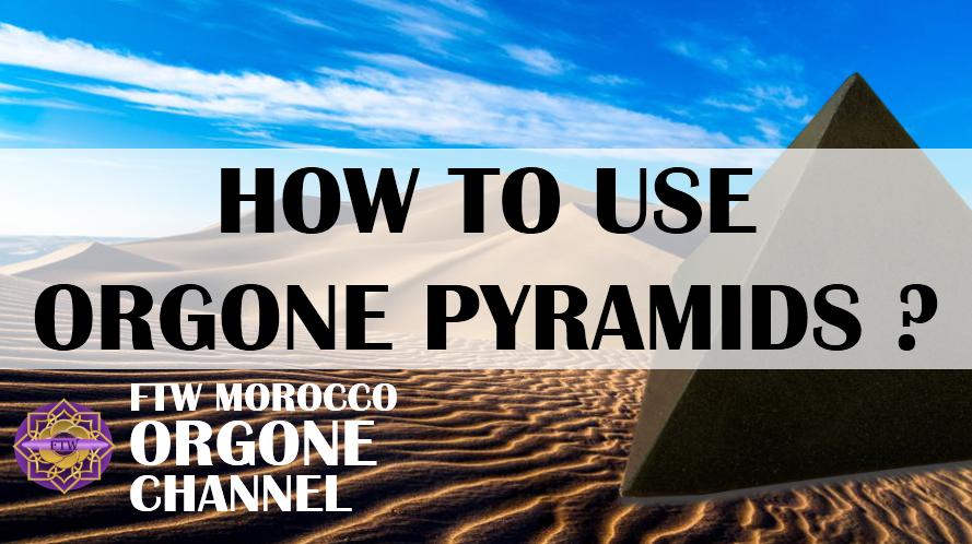 How do I use Orgone pyramids and where do I place them? (video)