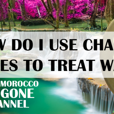 How To Use Orgonite Charge Plates to Treat Water (video)